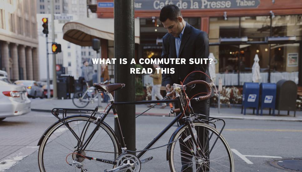 Conheça o terno desenvolvido exclusivamente para quem vai de bike para o trabalho