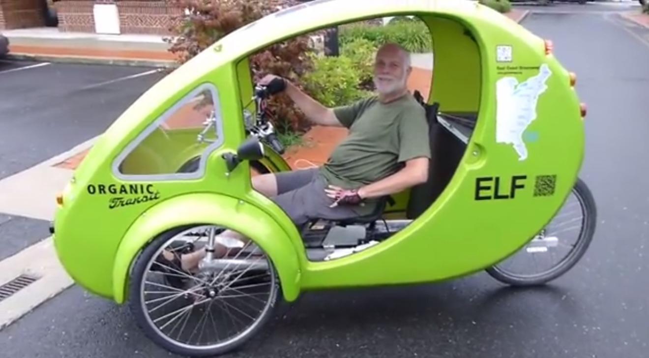 O idoso de 65 anos que atravessou a América do Norte pedalando para promover o uso de bike nas cidades
