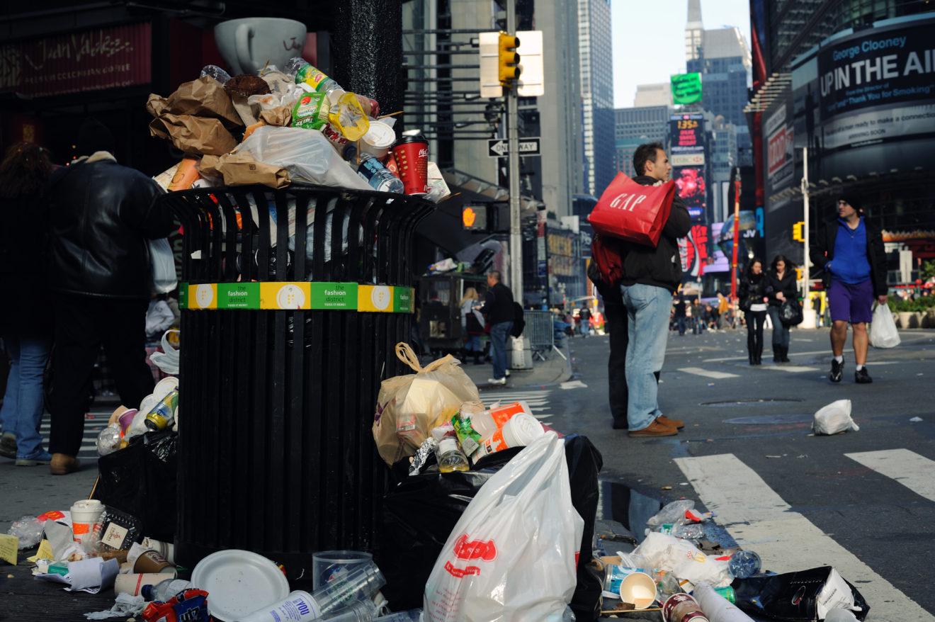 A era do descartável: seu lixo diz muito sobre você!