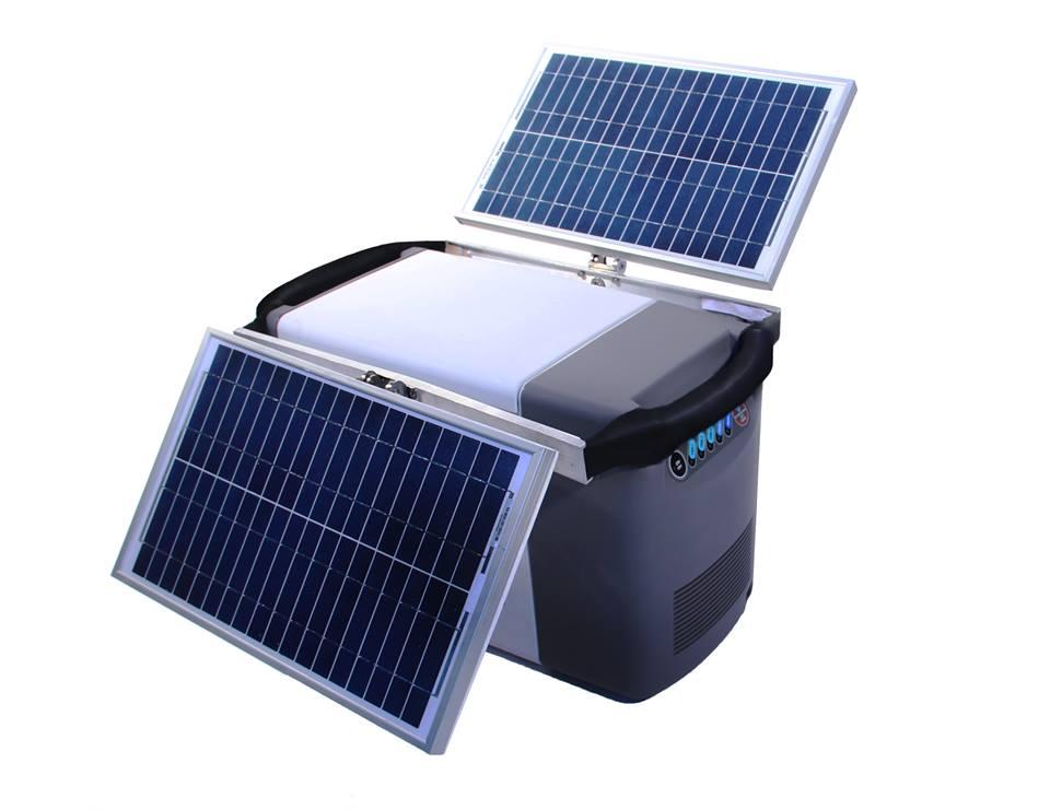 Cooler movido a energia solar gela cerveja (e ainda recarrega celular)