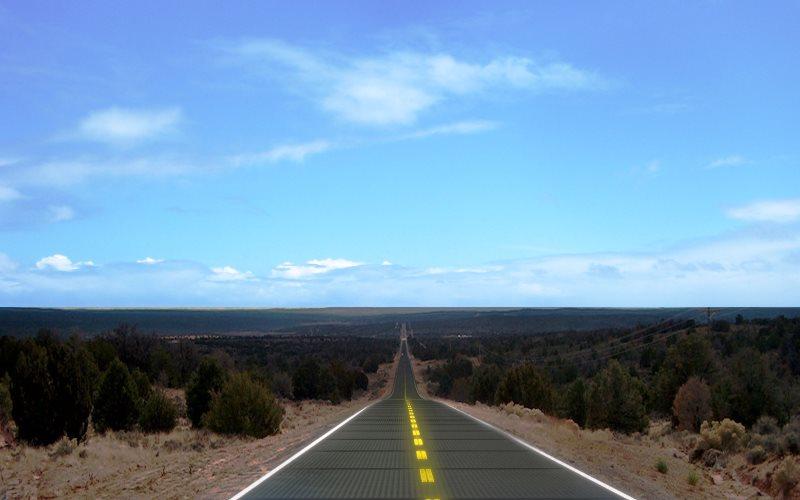 E se trocar todo o asfalto do mundo por placas solares? Daria para reduzir em 75% a emissão de poluentes!