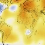 Vídeo: 134 anos de aquecimento global em 30 segundos