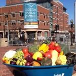 O mercado em Boston que vende apenas alimentos locais e da estação