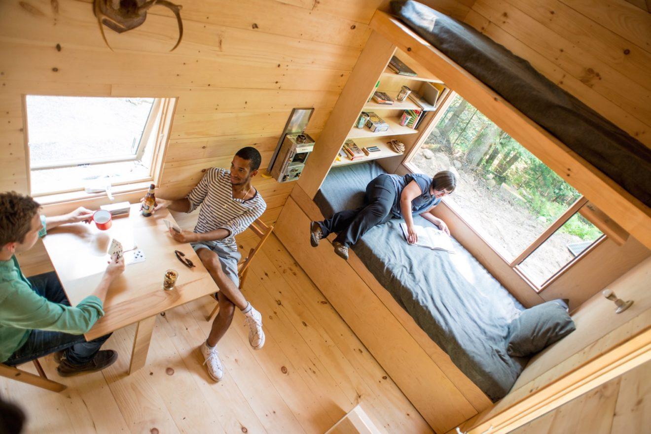 Startup convida você a testar casa minimalista antes de decidir se quer mudar para uma