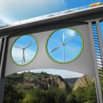 Conheça o 1º viaduto do mundo que também gera energia a partir de turbinas eólicas