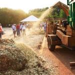 No Paraná, central de compostagem produz adubo de graça para hortas comunitárias