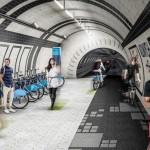 Túneis abandonados de Londres podem virar ciclovias (e ainda gerar energia limpa)