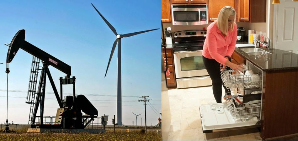 Com excesso de energia eólica, Texas distribui eletricidade de graça à população