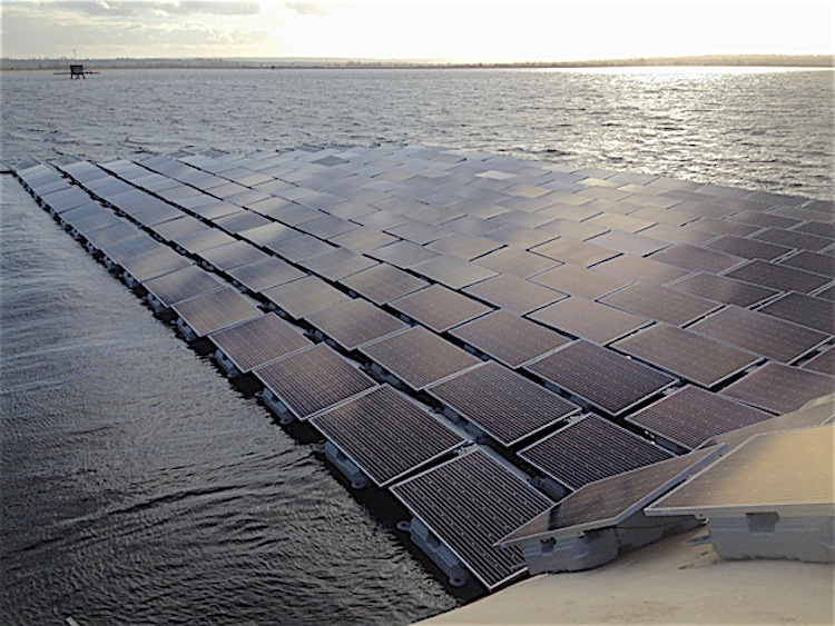 A usina solar flutuante que garante água potável para 10 milhões de pessoas