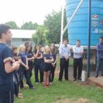 No Paraná, alunos se unem para implementar horta, cisterna e placas solares no colégio