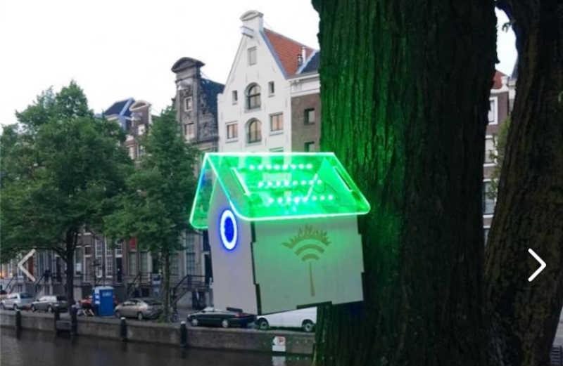 Em Amsterdã, cidadãos ganham WiFi grátis na rua quando nível de poluição do ar está baixo