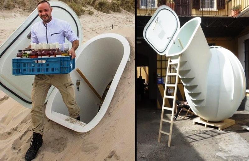 A geladeira que funciona sem eletricidade (e usa temperatura da terra para refrigerar alimentos)