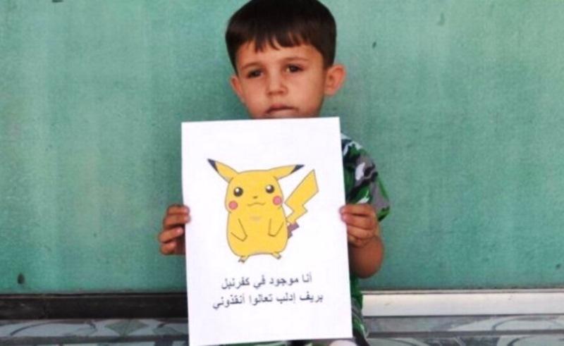 Síria usa febre do Pokémon GO para estimular adoção de crianças em zonas de conflito