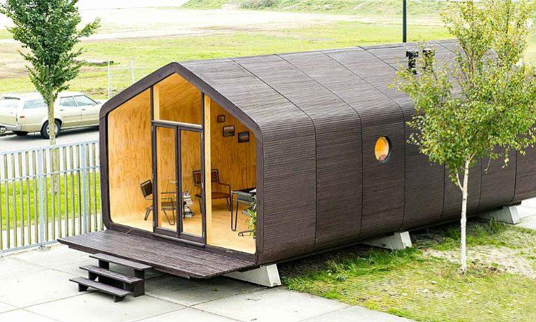 A casa modular de papelão que fica pronta em 24 horas e dura cerca de 100 anos