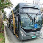 Já circula pelas ruas de Florianópolis um ônibus elétrico 100% movido a energia solar