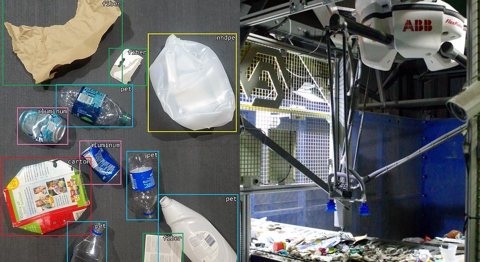 Conheça Clarke, o robô inteligente que coleta lixo reciclável 2 vezes mais rápido do que um humano