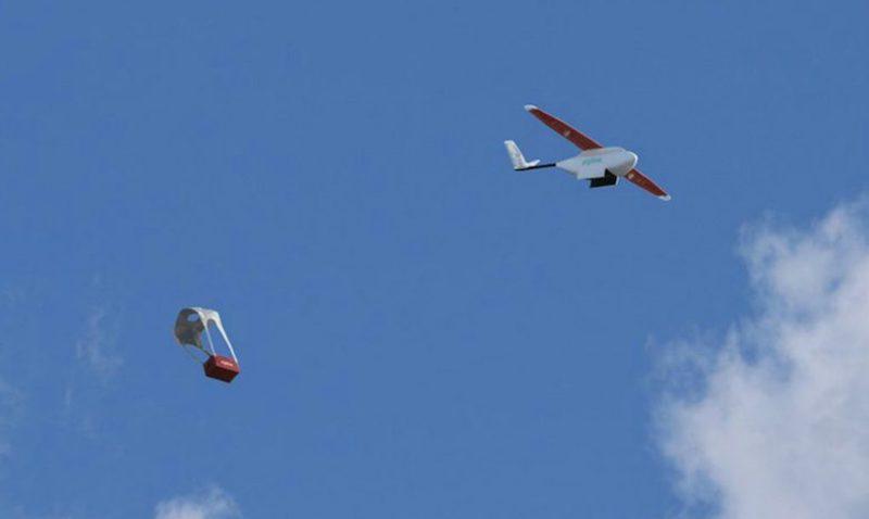 Drones conseguem entregar medicamentos em menos de uma hora