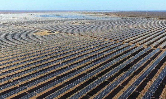 A maior e mais nova usina de energia solar da América Latina é brasileira