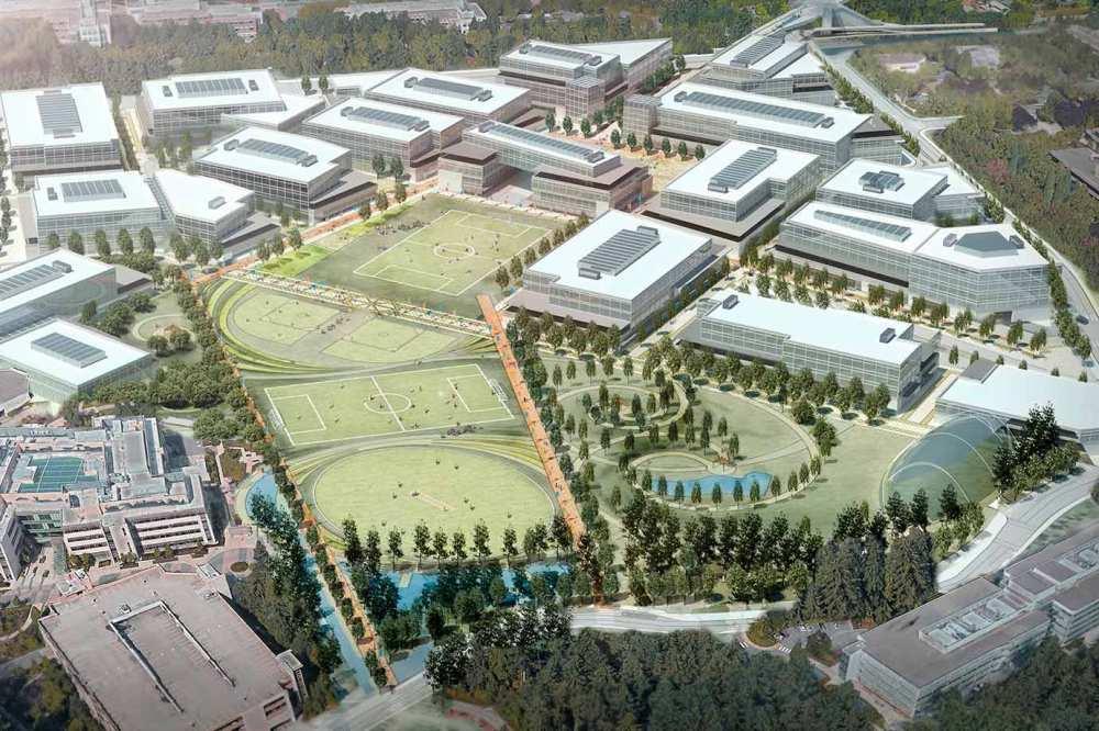Microsoft anuncia investimentos de 150 milhões em mega renovação verde de seu campus