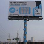Primeiro outdoor sustentável do mundo gera água potável e promove a conscientização