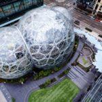 Novo escritório da Amazon reproduz miniflorestas tropicais no meio da cidade