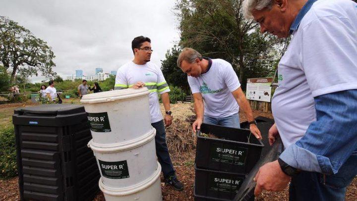 Florianópolis distribuirá 500 unidades de composteira para moradores
