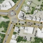 Cidade não tem farol nem calçadas – e funciona!