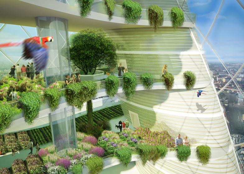 Berlim projeta prédios residenciais com fazendas verticais para moradores cultivarem orgânicos
