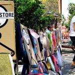 Projeto implanta varais nas ruas para moradores em situação de rua poderem escolher suas roupas