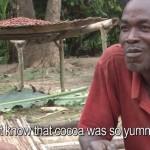 Vídeo mostra produtores de cacau da África comendo chocolate pela 1ª vez na vida