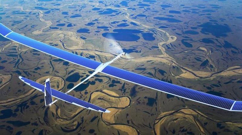 Facebook cria drone (movido a energia solar) que leva internet para áreas remotas
