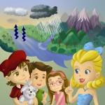 'Clara: uma gotinha d'água': livro ensina educação ambiental para crianças de forma divertida