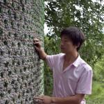 Arquiteto chinês constrói escritório com 8.500 garrafas de cerveja