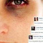 Famosas fazem campanha criativa no Facebook para combater violência contra mulher