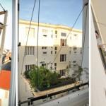 Designers encontram solução para horta em apartamento sem sacada