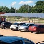 Estacionamento solar da UFRJ economiza R$ 40 mil por ano