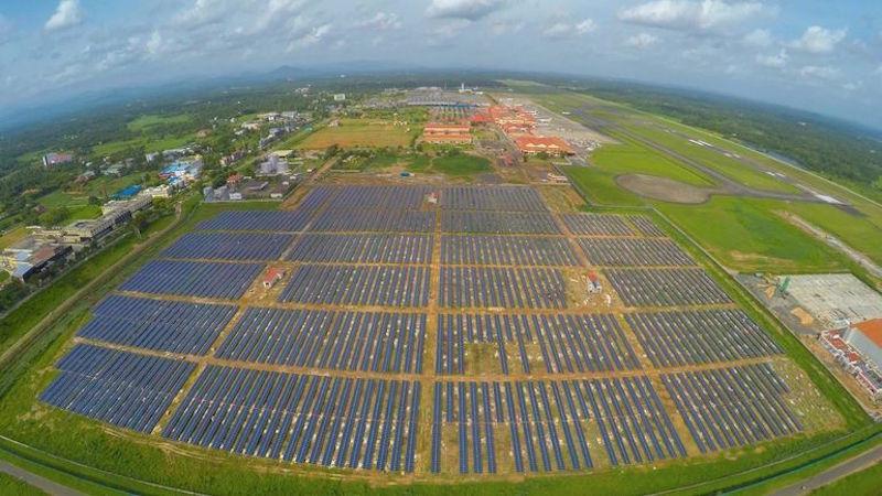 Índia terá primeiro aeroporto do mundo abastecido com energia solar