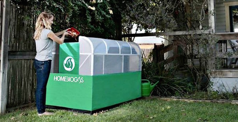 Aparelho para casa transforma resíduos orgânicos em gás de cozinha