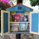 Minibibliotecas gratuitas incentivam leitura em pontos de ônibus