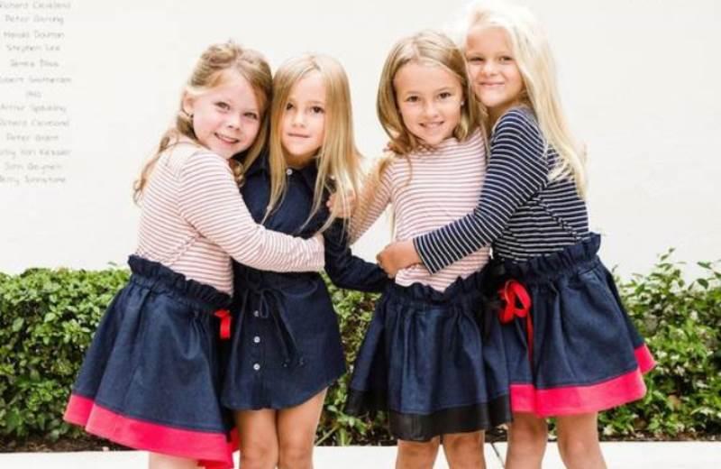 Marca produz roupas infantis a partir de retalhos que sobram da confecção de roupas adultas