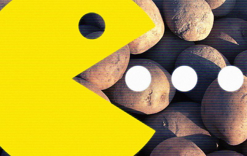 PacMan contra fome! Você joga o game e empresa converte pontos em comida para quem não tem