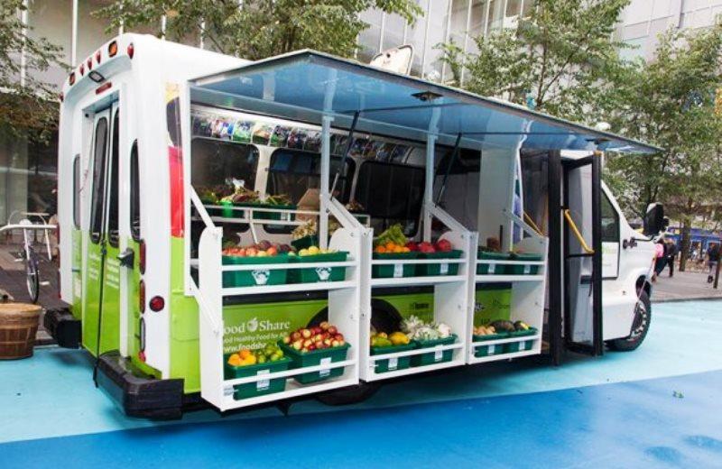 Quitanda móvel leva alimentos frescos e orgânicos até a casa dos consumidores no Canadá