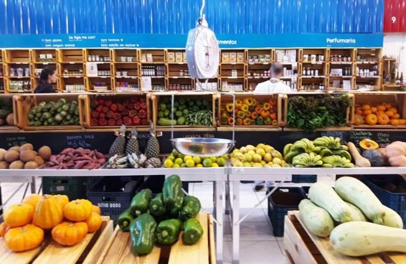 1º supermercado 100% orgânico de São Paulo tem mais de mil opções de produtos à venda
