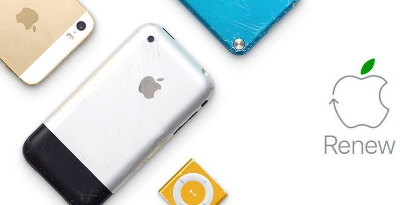 Apple anuncia planos de fabricar (em um futuro próximo!) todos os seus produtos com materiais reciclados