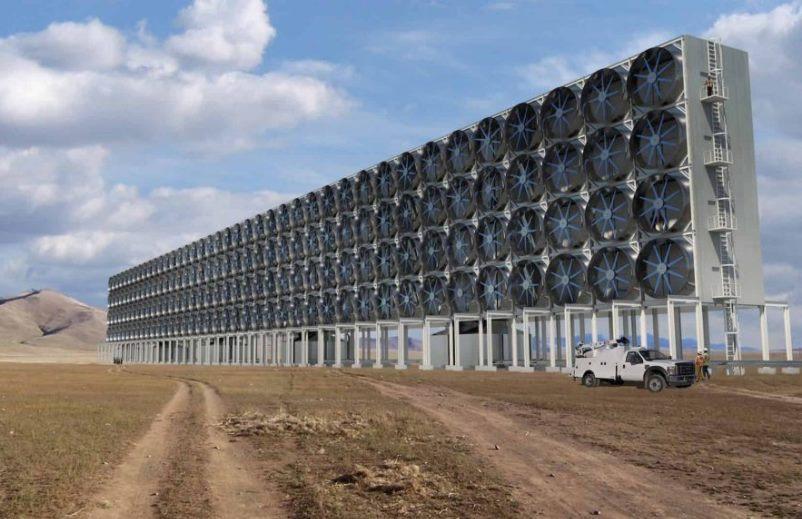 Para combater aquecimento global, Suíça vai aspirar CO2 do ar (e reaproveitá-lo como adubo na produção de hortaliças)