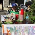 O menino de 5 anos que vende limonada para ajudar um santuário de proteção aos animais