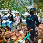 Sem pegar trânsito e sem suar! App oferece serviço de carona de bike em que passageiro não precisa pedalar