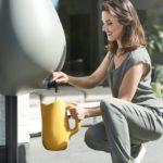 A cisterna em forma de gota que pode ser instalada em qualquer casa para captar água da chuva (sem reformas!)