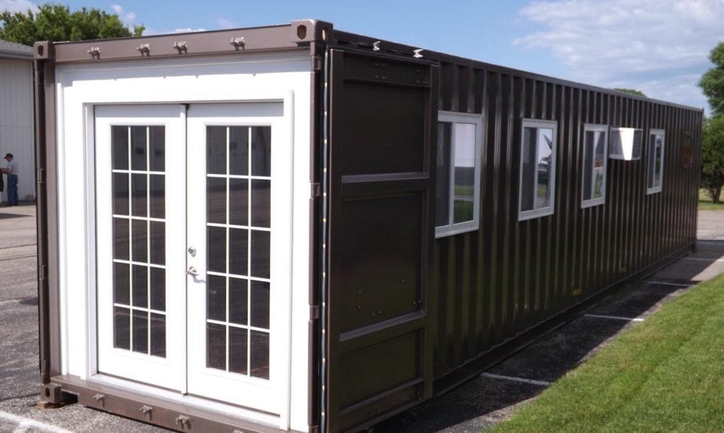 Delivery de casas minimalistas! Amazon passa a vender online minicasas de 29 m² feitas com containers