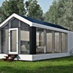A casa autossuficiente (100% movida a energia solar) que é construída em apenas 8 horas